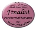 Finalist Medallion-Paranormal