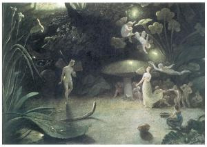 Francis Danby, Scene from A Midsummer Night's Dream (1832).
