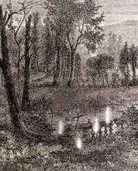 Flammarion engraving, L'atmosphère: météorologie populaire (1888, p.749).