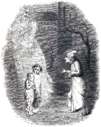 by John Leech from Dickens' A Christmas Carol