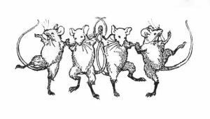 Line Dancing Mice